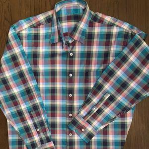 Alan Flusser - Large LS dress shirt in Mens